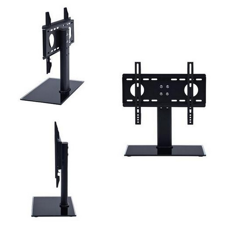 tv st nder fu universal standfu 26 32 65 80cm lcd. Black Bedroom Furniture Sets. Home Design Ideas