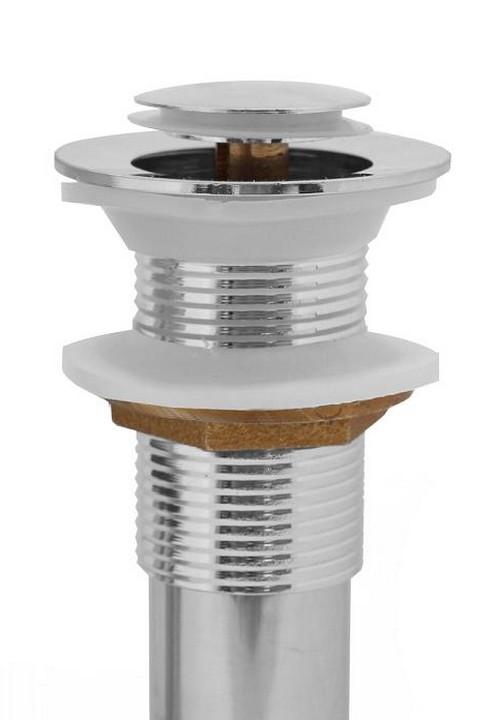 Edelstahl  Zink Waschbecken Abfluss Ablauf ohne Überlauf  ~ Waschbecken Zink